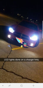 LED bulbs for ALL makes and model vehicles with installation