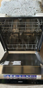 Super silent Stainless Steel BOSCH dishwater - 48 db only!!