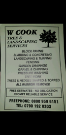 W,cook tree & landscaping