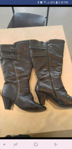 Extra wide calf boot - size 10