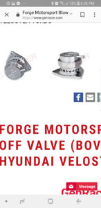 Forge motorsport BOV for genesis coupe.