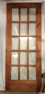 Beautiful solid pine French door Belleville Belleville Area image 1