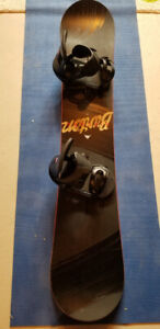 Selling Burton Snowboard and Bindings with bag