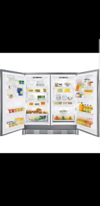 FRIGIDAIRE UPRIGHT FRIDGE & FREEZER COMBO
