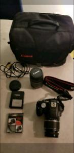 Canon Rebel T1i DSLR kit