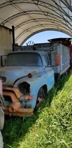 1956 Chev 3 Ton Truck with Hoist
