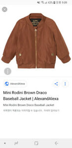 Mini rodini unisex  baseball jacket