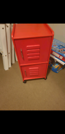 RED CUPBOARD, EXCELLENT CONDITION