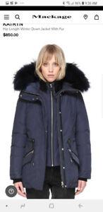 2 BRAND NEW Mackage Women coat Medium