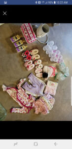 Mix of baby items