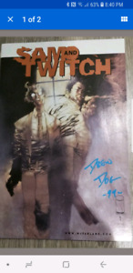 Sam and Twitch signed #1 Image comics