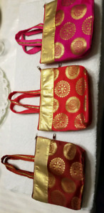Designer Indian handbag with embroidery, Ethnic, purse