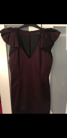 Satin french connection dress