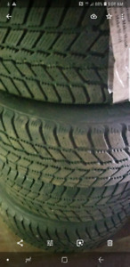 2010 Saliun ice blazer winter tires 225 65 17