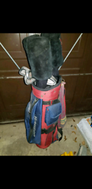 Howson golf clubs set