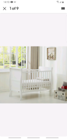 MCC solid wooden cot bed