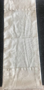 "**BEIGE COLORED WINDOW VALANCE FOR SALE- 52""X13"" **"