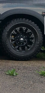 Fuel rims and Mickey Thompson Tires