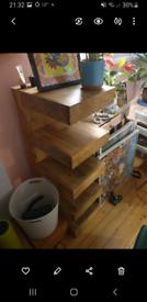 Oak Furniture Land Display unit