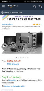 Wolf Gang Puck Pressure Oven
