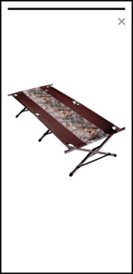 Woods Camouflage Camp Cot (New, never used)