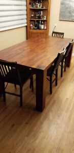 Dining table for sale in excellent condition.