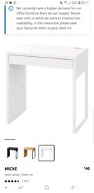Ikea desk,white.