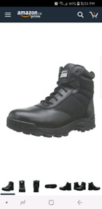 Brand New 6inch S.W.A.T. Boots - Size 9.5