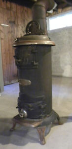 Antique Cast Iron Stove