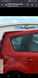 Driver rear glass
