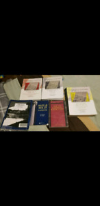 Assorted Law books from Carleton