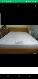 King size IKEA malm low bed