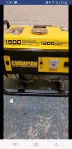 1200 watt generator