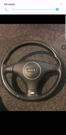 Audi a3 a4 a5 a6 3.2 v6 tdi s line paddle shift steering wheel airbag