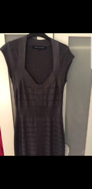 Grey bandage dress from French Connection