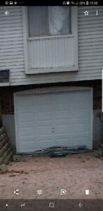 FOR SALE: White garage door for sell