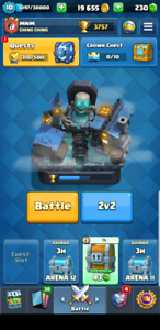 Clash Royale account arena 12