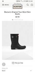 Women's Original tour Short Rain Boot