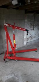 Automotive Engine Hoist Hydraulic Crane (2 Ton)
