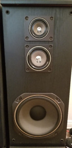 Mitsubishi Tower Speakers