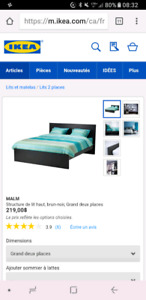 Lit malm queen size