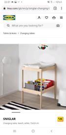 IKEA Sniglar Changing Unit