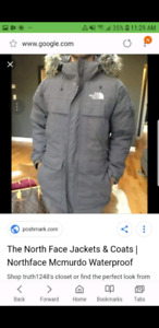 The North face jacket coat water proof