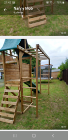 Wooden fort