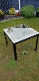 Glass table garden