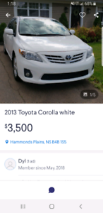 2013 corolla do not send