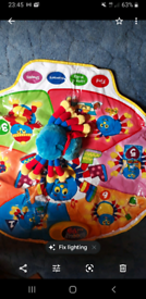 Woolly and tig interactive play mat with interactive spider