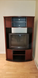 TV Stand with TV