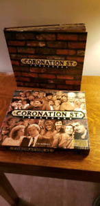 Coronation Street  Treasures Hardcover Book & Case