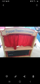 Puppet Theatre (wooden)